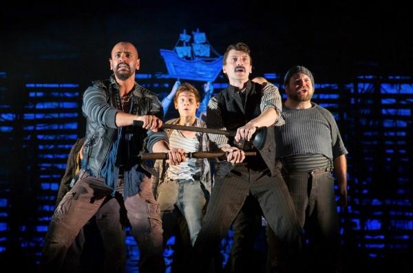 Gabe Martinez, Bryan Welnicki, Joe Beuerlein, Shaun Rice Photo