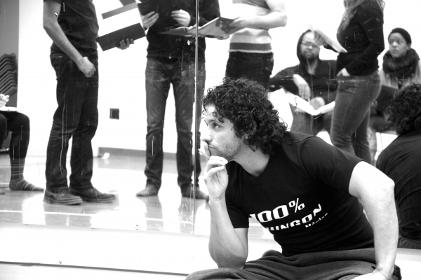 Photo Flash: In Rehearsal with ZUCCOTTI PARK