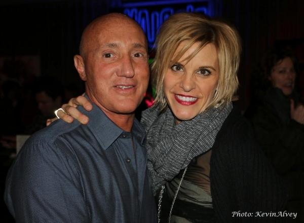 Gianni Valenti and Jenn Colella