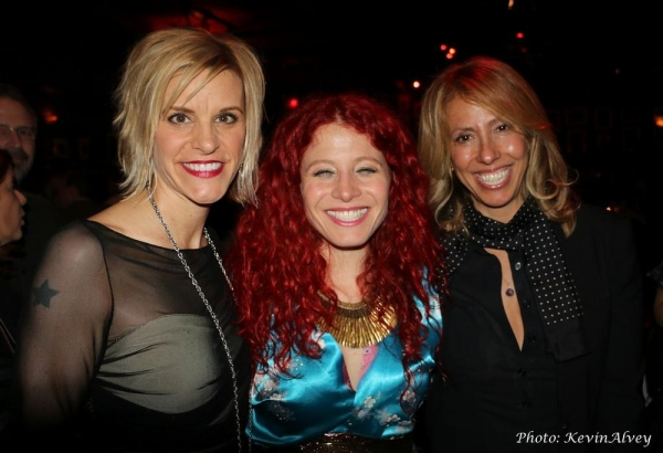 Jenn Colella, Nina Storey and Amanda Green