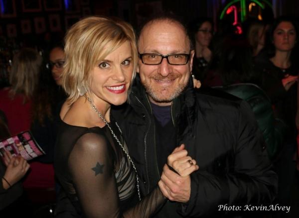 Jenn Colella and Lonny Price
