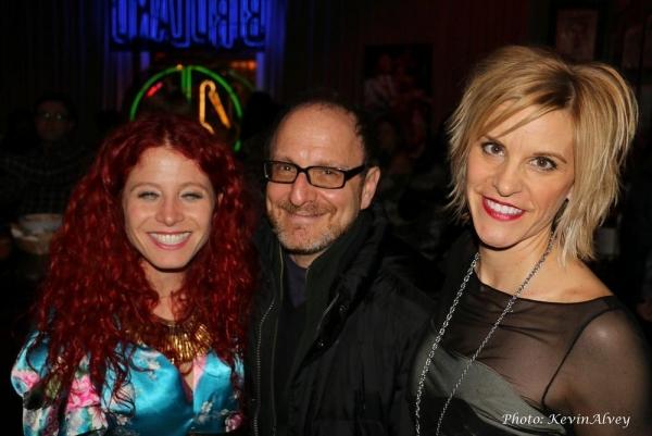 Nina Storey, Lonny Price and Jenn Colella