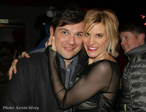 Stephen Oremus and Jenn Colella