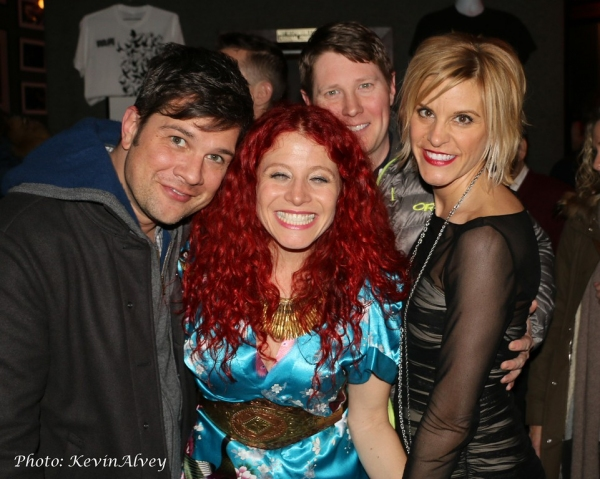 Stephen Oremus, Nina Storey, Justin Bohon and Jenn Colella Photo