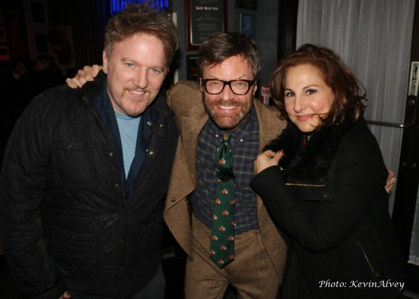 Dan Finnerty, Jim Caruso and Kathy Najimy