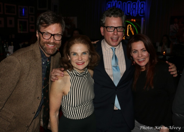 Jim Caruso, Tovah Feldshuh, Billy Stritch and Rachel Tucker
