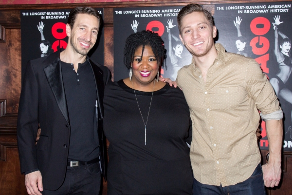 Adam Zotovich, NaTasha Yvette Williams, Adam Jepsen Photo