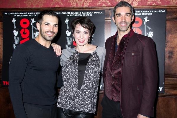 Michael Scirrotto, Melissa Rae Mahon, Peter Nelson Photo