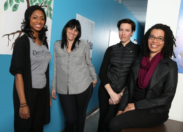Rachael Holmes, Leigh Silverman, Rebecca Henderson and Tanya Barfield