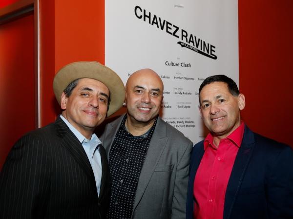 Culture Clash members Richard Montoya, Herbert Siguenza and Ric Salinas