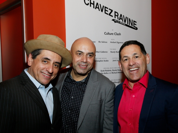 Culture Clash members Richard Montoya, Herbert Siguenza and Ric Salinas Photo