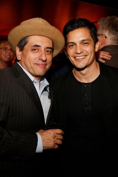 Cast member Richard Montoya and actor Nicholas Gonzalez  Photo