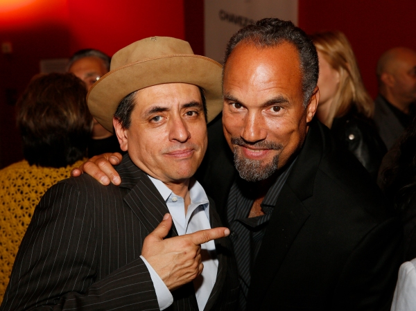 Cast member Richard Montoya and actor Roger Guenveur Smith