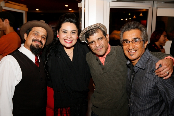 Band members Randy Rodarte, Vaneza Mari Calderon, Scott Rodarte and Music Director/Arranger John Avila