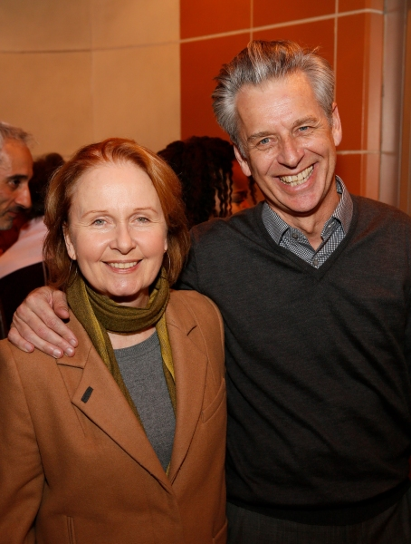 Actress Kate Burton and CTG Artistic Director Michael Ritchie