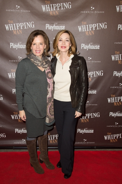 Jeanie Hackett and Sharon Lawrence