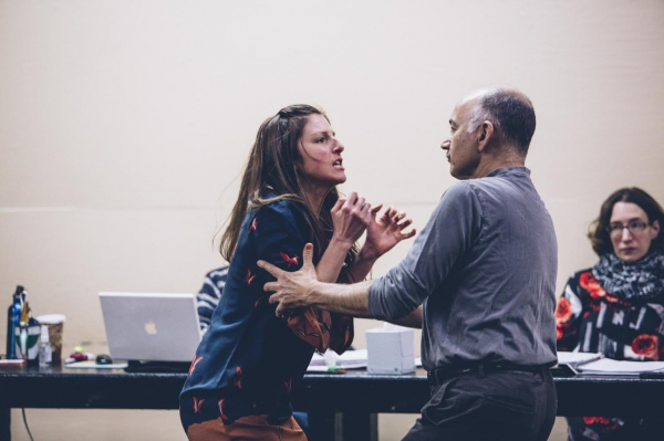 Photo Flash: In Rehearsal with the Cast of ROCKET TO THE MOON Off-Broadway