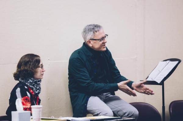 Director Dan Wackerman and assistant director Mary K. Ryan
