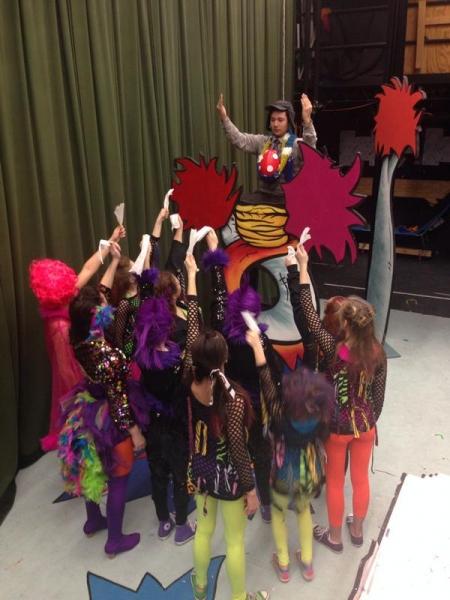 Photo Flash: Saturday Intermission Pics - Feb. 7 - NEVERMORE Lights Up New World Stages; Plus PIPPIN, MAMMA MIA! & More!