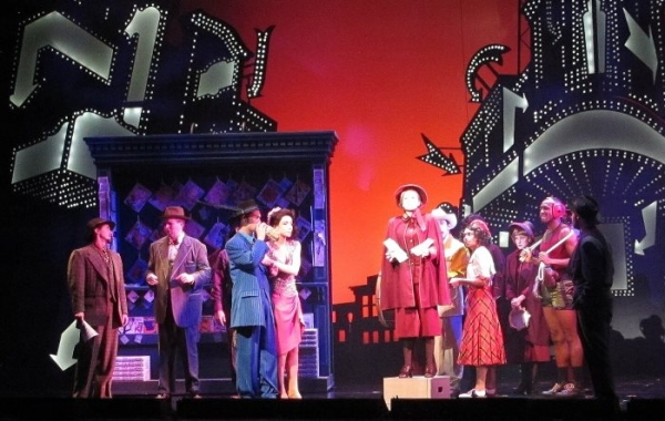 Kayleen Seidl and the Cast of GUYS & DOLLS