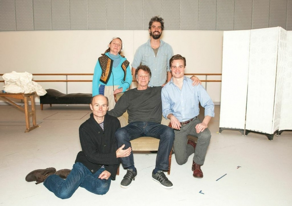 Henry Stram, Dale Soules, John Noble, Hamish Linklater and Mickey Theis