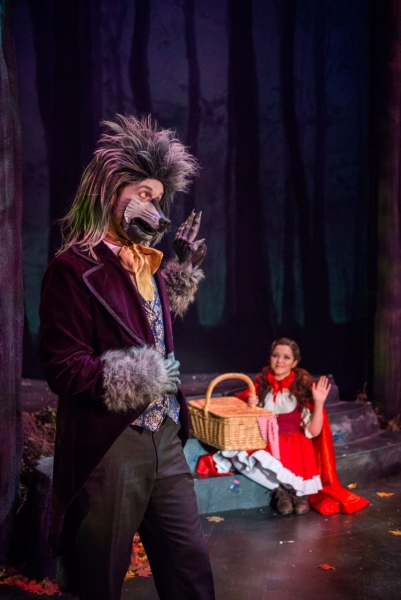 Photo Flash: First Look at Tituss Burgess, Arielle Jacobs and More in INTO THE WOODS at the Arsht Center