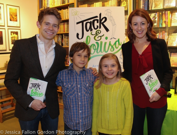 Andrew Keenan-Bolger, Zachary Unger, Brooklyn Shuck and Kate Wetherhead