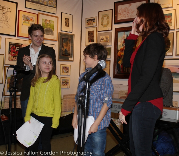 Andrew Keenan-Bolger, Brooklyn Shuck, Zachary Unger and Kate Wetherhead