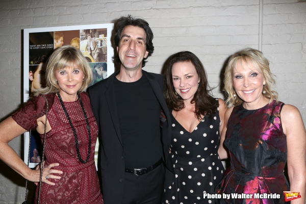 Lauren Versel, Jason Robert Brown, Georgia Stitt and Janet Brenner