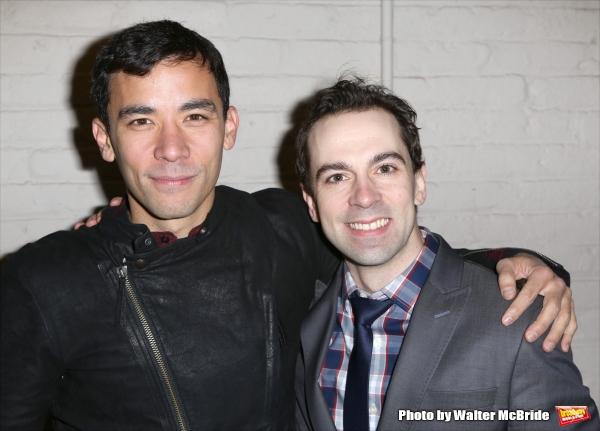 Conrad Ricamora and Rob McClure