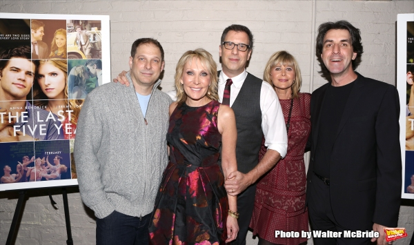 Kurt Deutch, Janet Brenner, Richard LaGravenes, Lauren Versel and Jason Robert Brown