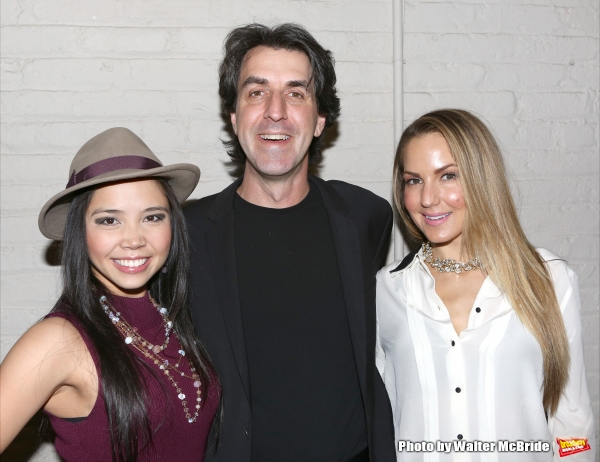 Catherine Ricafort, Jason Robert Brown and Katie Webber