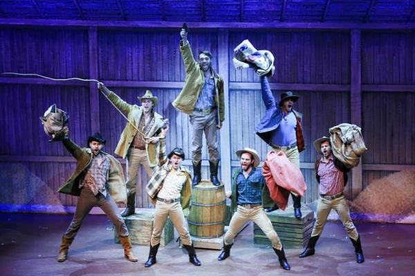 Wesley Drummond (Benjamin), William Leonard (Frank), Max King (Gideon), Justun Hart (Adam), Matt Casey (Daniel), Carver Duncan (Caleb) and Ben Cramer (Ephraim)