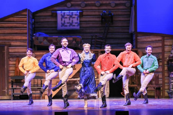 Max King (Gideon), Carver Duncan (Caleb), Wesley Drummond (Benjamin), Kate Marshall (Milly), Ben Cramer (Ephraim), William Leonard (Frank) and Matt Casey (Daniel)