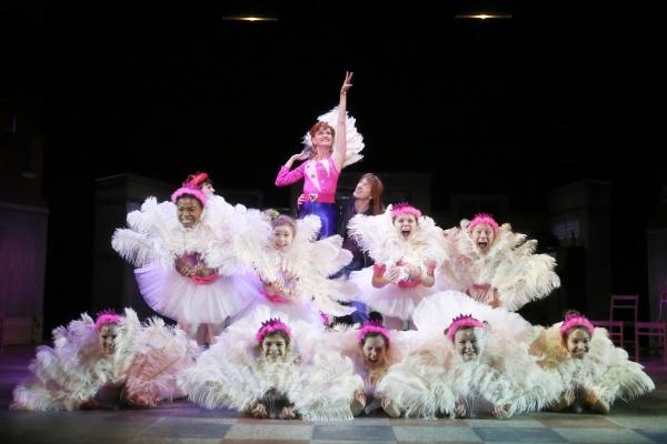 Janet Dickinson & Ballet Girls  Photo