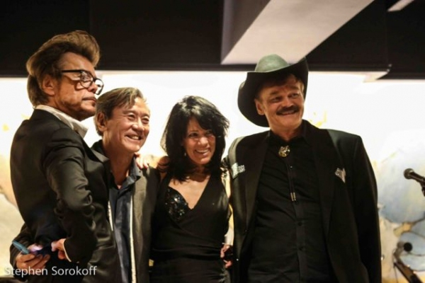 Buster Poindexter, David Noh, Mara Hennessey, Randy Jones Photo