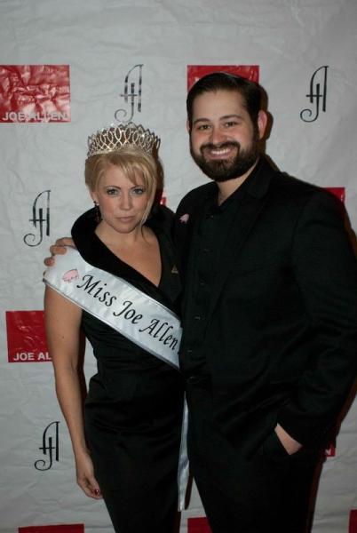 Erin Sullivan and Chris Rozanski, nominated for Best Leading Waiter and Waitress for Joe Allen