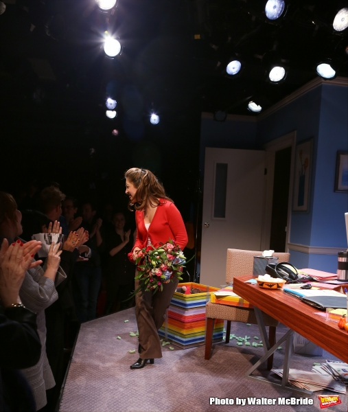 Photo Coverage: Christina Bianco Takes Opening Night Bows in APPLICATION PENDING