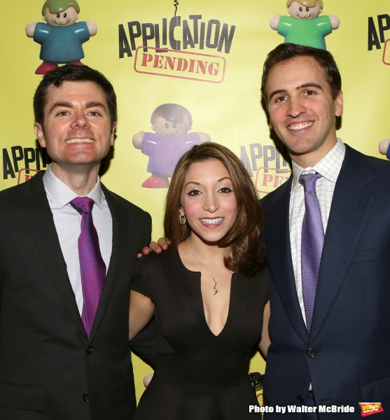 Greg Edwards, Christina Bianco and Andy Sandberg