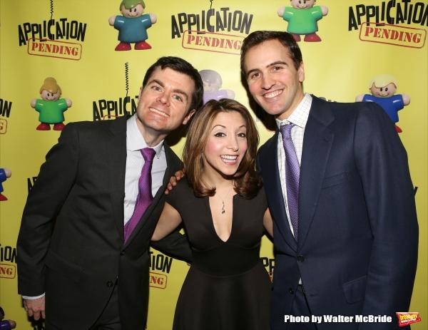 Greg Edwards, Christina Bianco and Andy Sandberg