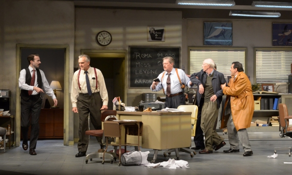 "John Williamson (Cliff Burgess), George Aaronow (Peter Galman), Detective Baylen (Kenneth Kay), James Lingk (Dan Leonard) and Richard ""Ricky� Roma (Peter Allas)"