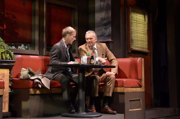 David Moss (John Leonard Thompson) and George Aaronow (Peter Galman)