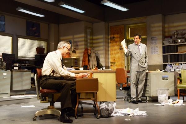 "George Aaronow (Peter Galman) and Richard ""Ricky� Roma (Peter Allas)"