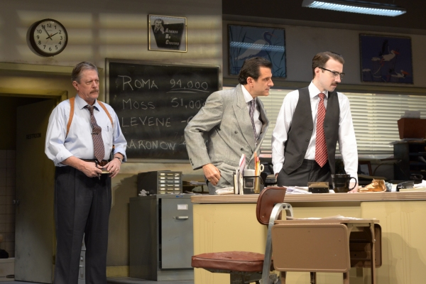 "Detective Baylen (Kenneth Kay), Richard ""Ricky� Roma (Peter Allas) and John Williamson (Cliff Burgess)"