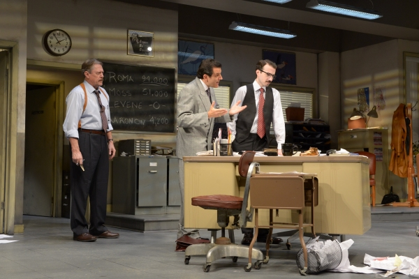 "Detective Baylen (Kenneth Kay), Richard �""Ricky"" Roma (Peter Allas) and Jo Photo"