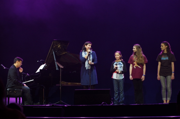 Photo Flash: Megan Hilty, Pasek & Paul, Darren Criss, Lilla Crawford & More at the JR. THEATRE FESTIVAL
