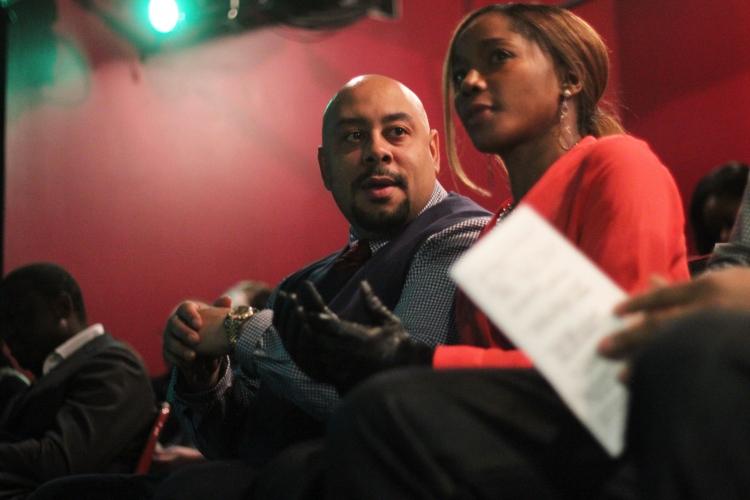 Raymond Santana and wife Hi-Res Photo - Photo Flash: Members of 'The