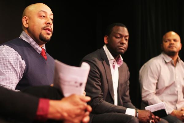Raymond Santana, Yusef Salaam, Kevin Richardson