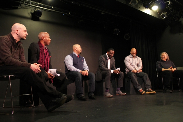 Joe Assadourian, Senator Bill Perkins, Raymond Santana, Yusef Salaam, Kevin Richardson, Eric Krebs