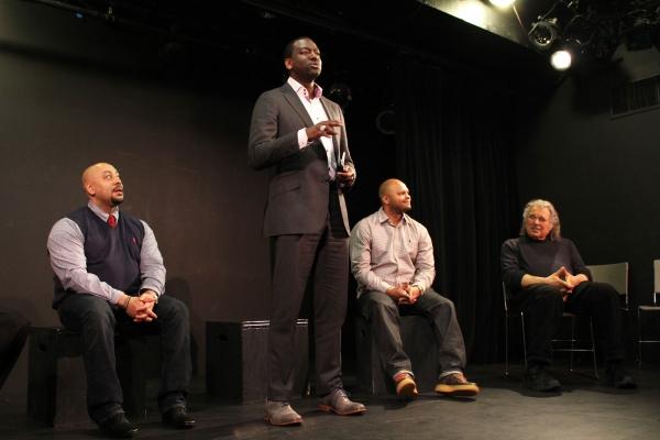 Raymond Santana, Yusef Salaam, Kevin Richardson, Eric Krebs